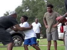 Jackson youth sports camp aims to inspire and uplift kids