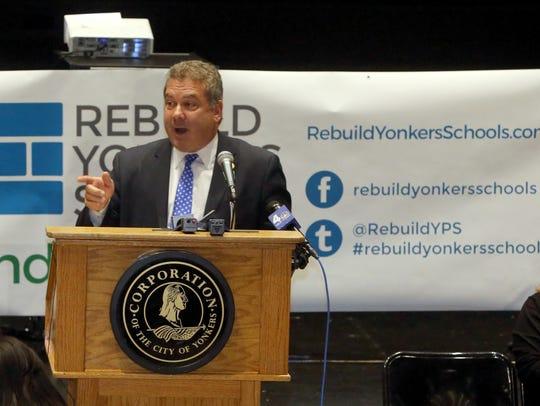 Yonkers Mayor Mike Spano.