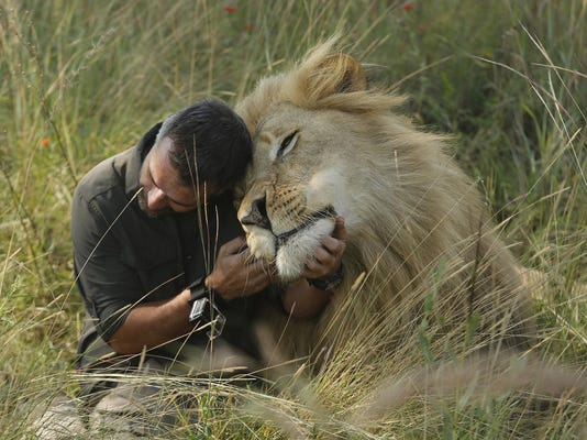 APTOPIX South Africa Lion Whisperer