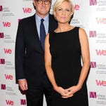 """MSNBC's """"Morning Joe"""" co-hosts Joe Scarborough and Mika Brzezinski, right, attend the 2013 Matrix New York Women in Communications Awards at the Waldorf-Astoria Hotel on Monday April 22, 2013 in New York. (Photo by Evan Agostini/Invision/AP)"""