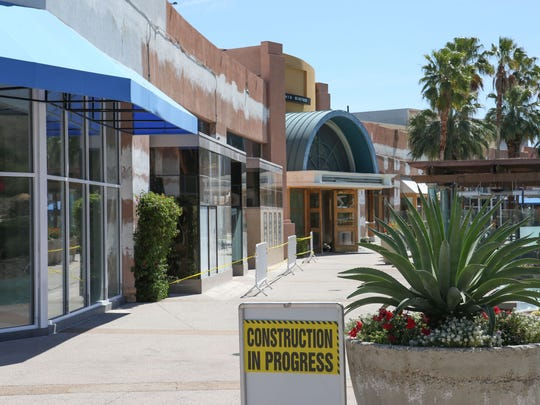 Changes continue to occur at The River at Rancho Mirage as owners of the center make improvements and continue working to fill vacant storefronts and restaurants on April 4, 2017.