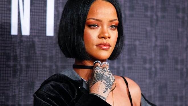 Why, yes, we HAVE noticed that Rihanna wears the look all the time.