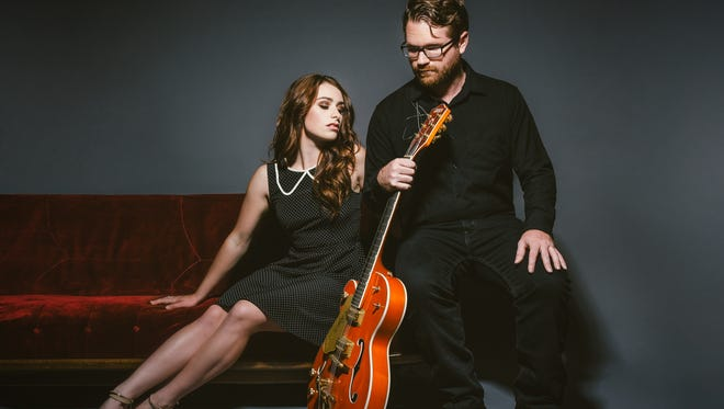 Laurel Wright and Wes Lunsford make up the country duo The Young Fables.