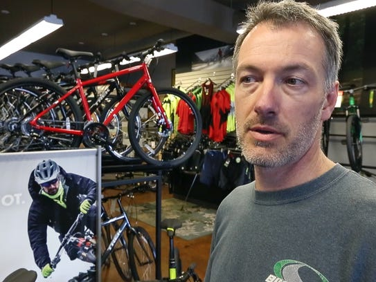 David Silloway, owner of Bike Zone near Chick-fil-A