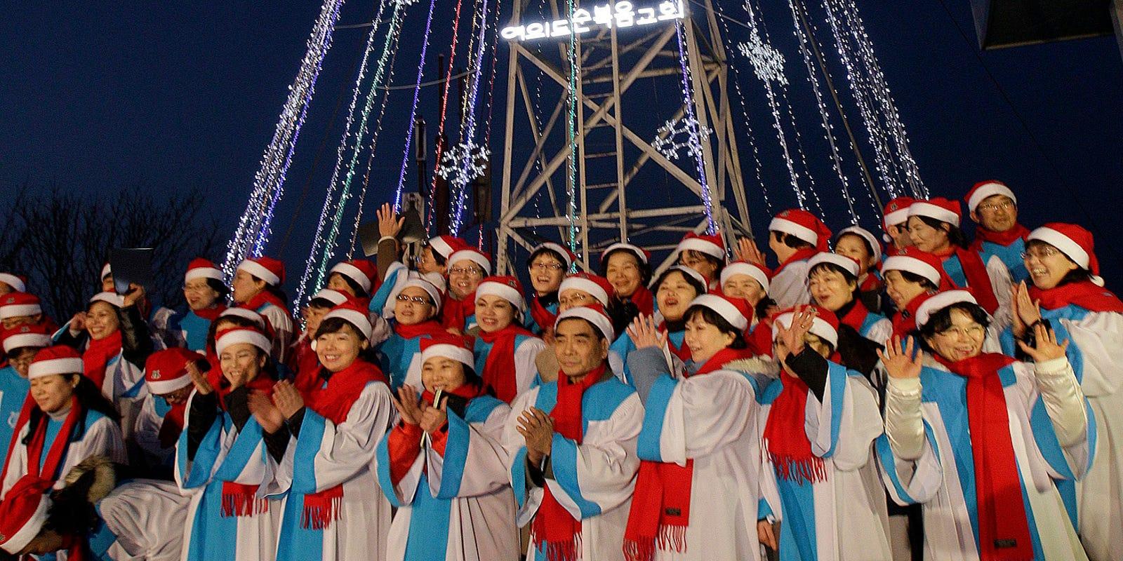 Christmas In Korea.North Korea Christmas Kim Jong Un Bans Parties With Alcohol