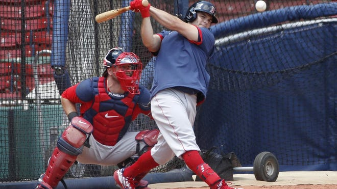 Andrew Benintendi is likely the top candidate to bat leadoff for the Red Sox this season.