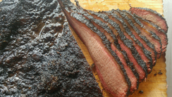 Brisket from Pickles and Bones Barbecue in Milford