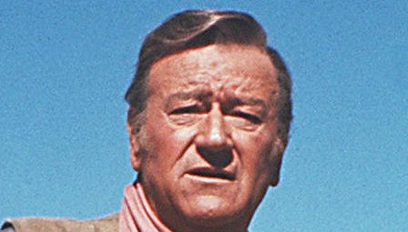 """Late actor John Wayne, also known as """"The Duke,"""" in an undated file photo."""