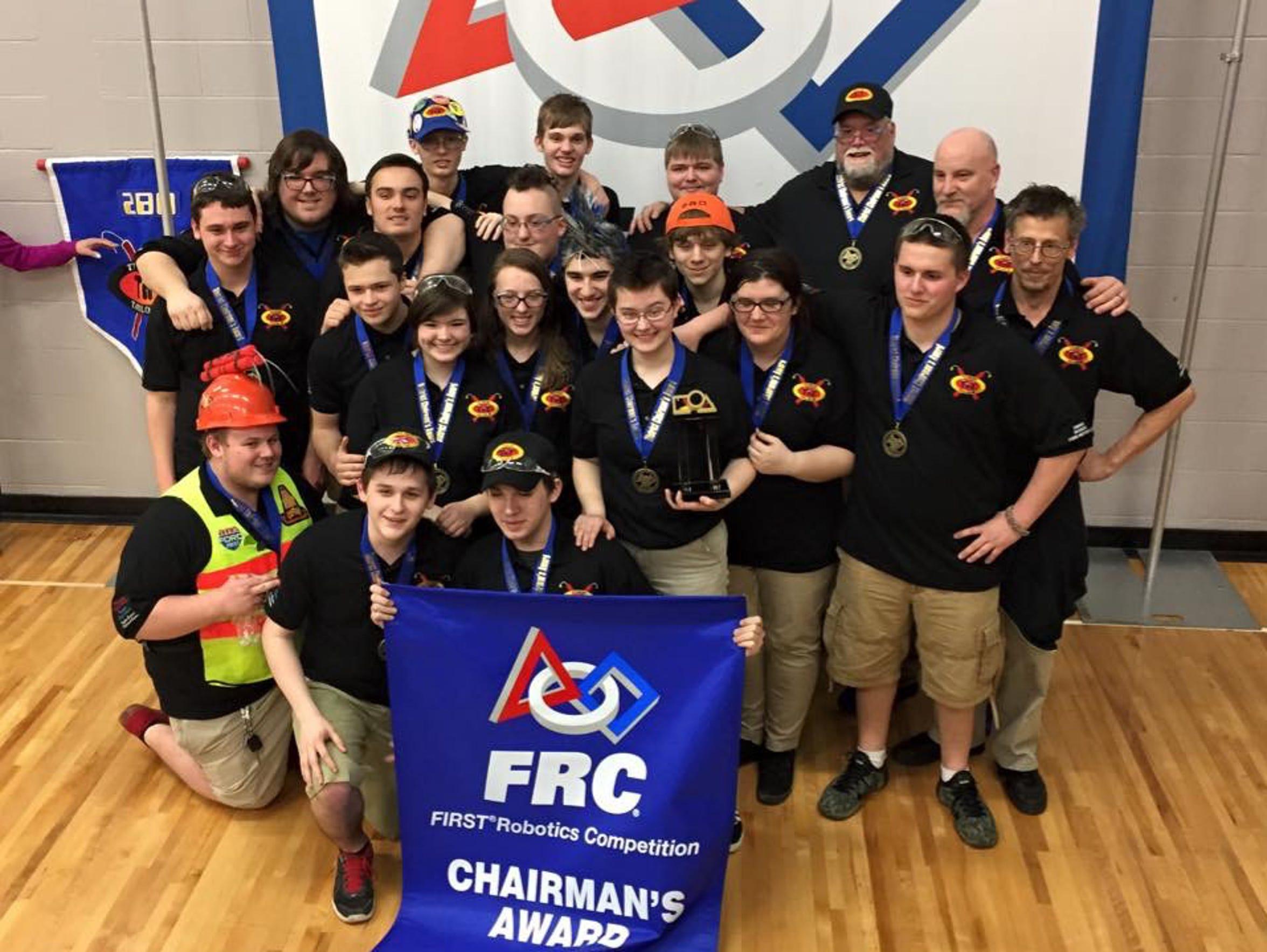 Taylor Public School District's TNT 280 Robotics Team--winners