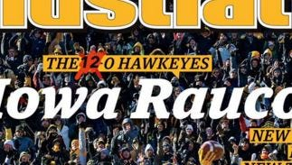 Sports Illustrated updated their Iowa Hawkeyes regional cover.