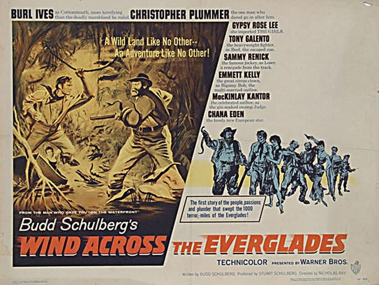 """""""Wind Across the Everglades"""" (Warner Brothers, 1958) starring Burl Ives, Gypsy Rose Lee, and a young Christopher Plummer."""