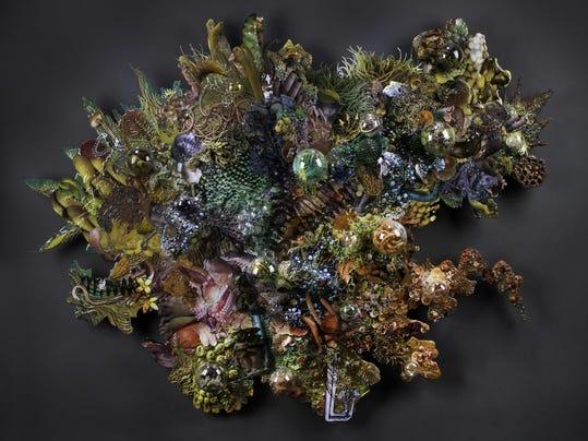 Alexandria McAughey, glass, Charach Gallery