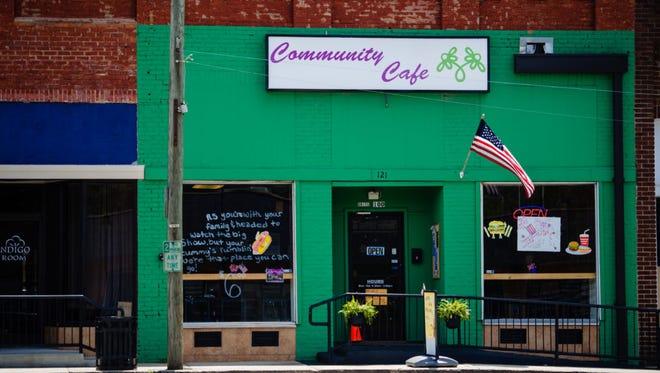 The Community Cafe in Erwin, North Carolina.