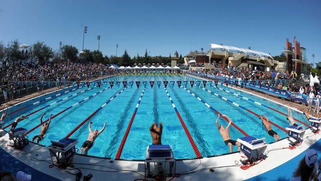Avery Aquatics Center at Stanford University.