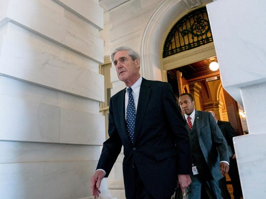 Special counsel Robert Mueller