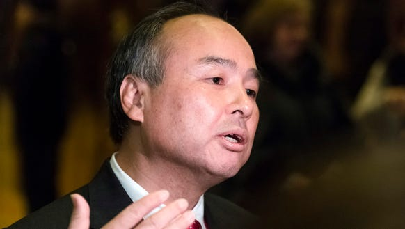 Masayoshi Son, CEO and founder of Japan's  SoftBank,