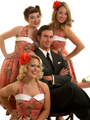 Catch Pin-Ups on Tour, a patriotic WWII-style burlesque and variety show, 9:30 p.m. Friday, Sept. 9, at Shotski's Woodfired Pizza, 1230 State St.