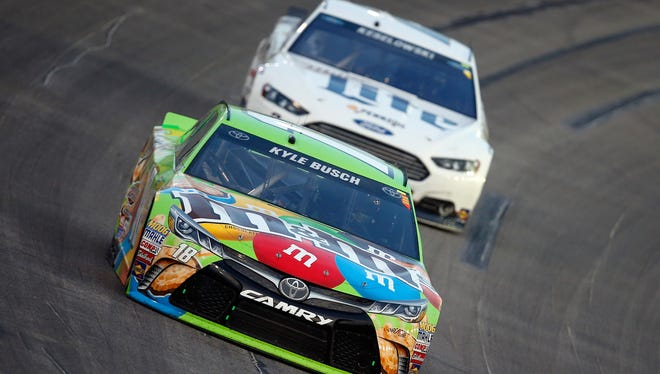 Kyle Busch won at Kentucky Speedway in 2015.
