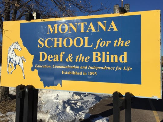 The Montana School for the Deaf and the Blind in Great Falls.