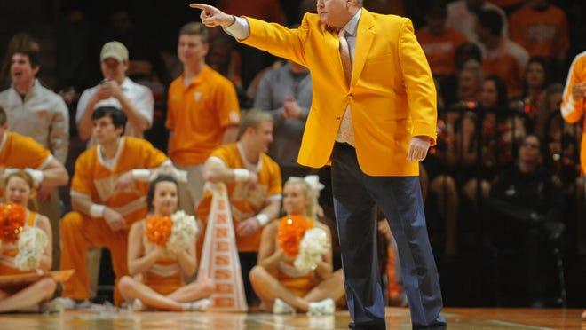 Tennessee coach Donnie Tyndall