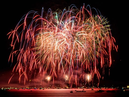 We can't think of a better place to watch fireworks