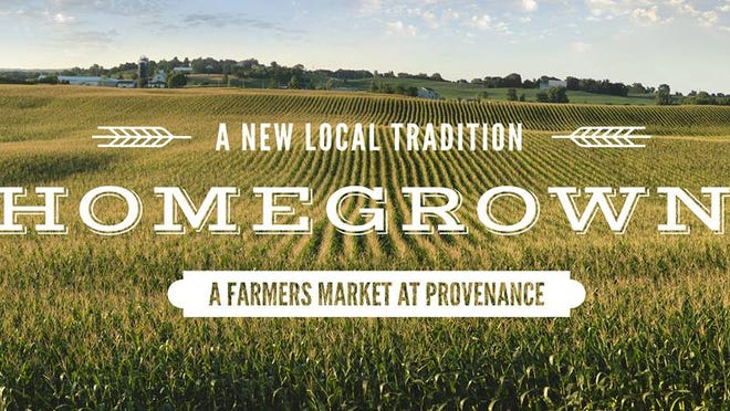 Find fresh produce and homemade treasures at Provenance Farmers' Market from 7 a.m. to 1 p.m. Saturday.