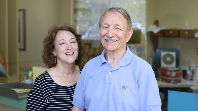 Dr. Virgil Isaac Aultman, who practiced in Fondren for 28 years, has retired but is still in the office finishing things up. His wife and office manager, Rachel, is right by his side.