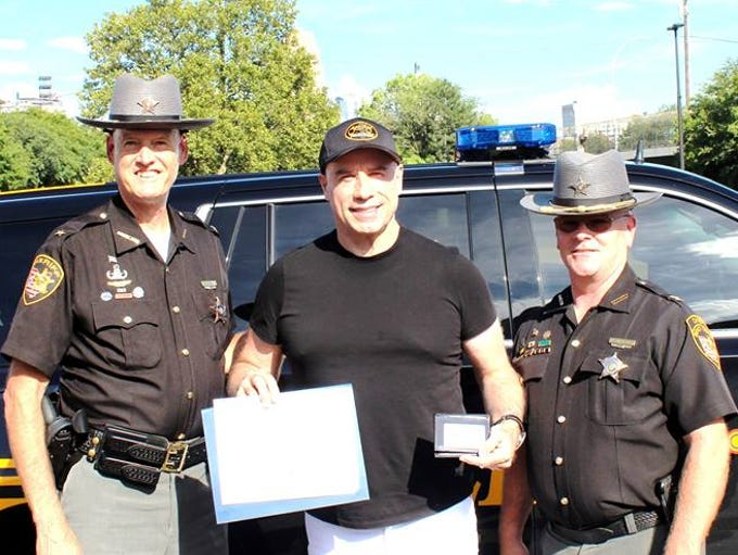 John Travolta was deputized by the Hamilton County