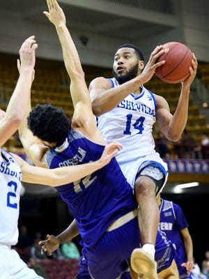 UNC Asheville's Ahmad Thomas has become only the second Big South player to accomplish an impressive statistical milestone.