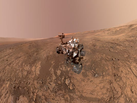 AP SPACE MARS ROVER SELFIES A XSP