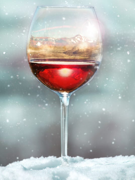 Wine Glass Reflection-upside down
