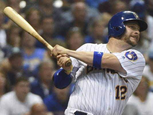 1e2122da7 Brewers  Stephen Vogt suffers career-threatening injury while on rehab
