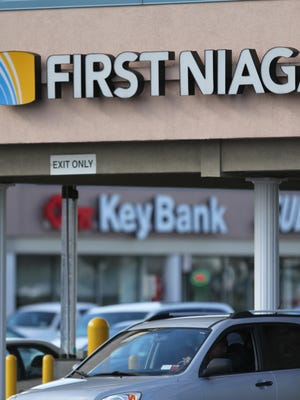 KeyBank at the Ridge-Culver Plaza in Irondequoit will relocate to the First Niagara branch in October when the two banks begin merging physical operations.
