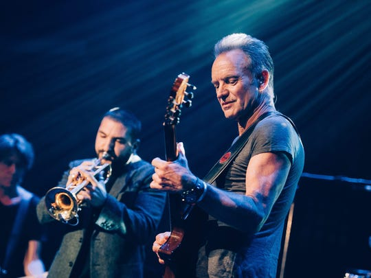 French-Lebanese trumpeter Ibrahim Maalouf joined Sting