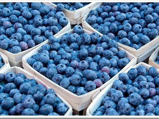 Blueberries are one food that may help perk you up.