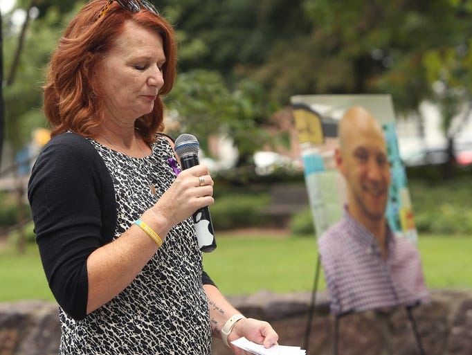 Christina Fagan of Ringwood speaks about the loss of