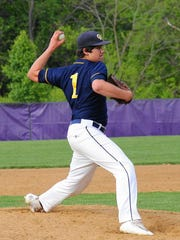 Greencastle-Antrim junior Nathan Starliper verbally committed to the University of Maryland baseball class of 2018, Thursday.