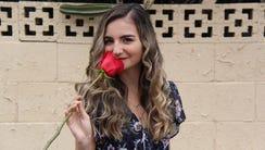 Arizona Republic reporter Rebecca Smouse poses for