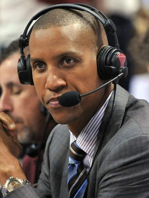 Reggie Miller now collects checks as an NBA commentator for TNT.
