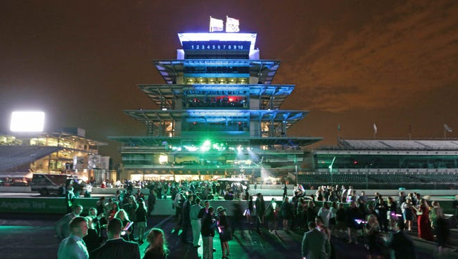 What would a futuristic Indy 500 look like?