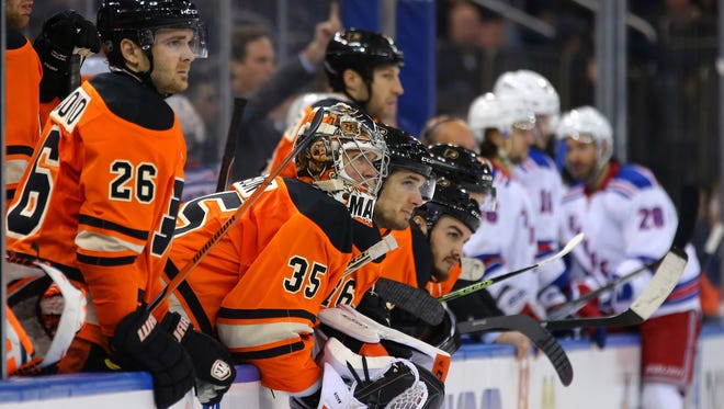 The Flyers have lost six of their last seven games and last week's 2-0 loss to the Rangers may have been the most one-sided game of the season.