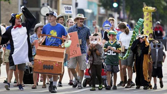 Today's Children's Parade in downtown Appleton has been canceled due to the weather.