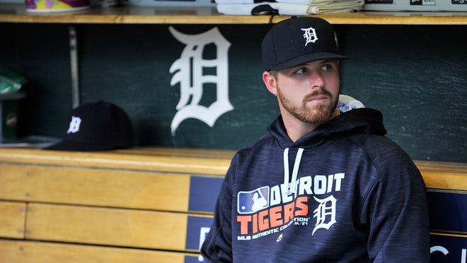 Tigers pitcher Buck Farmer was called up from Triple A Toledo after Detroit beat Chicago 3-2 at Comerica Park.