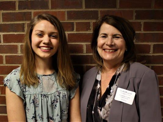 Megan Stonebraker and Darla Wagner