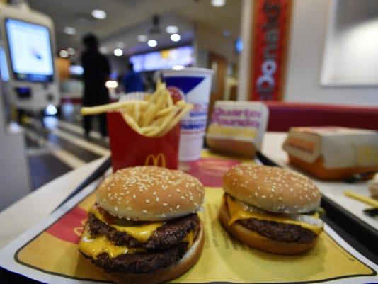 McDonalds Fresh Beef