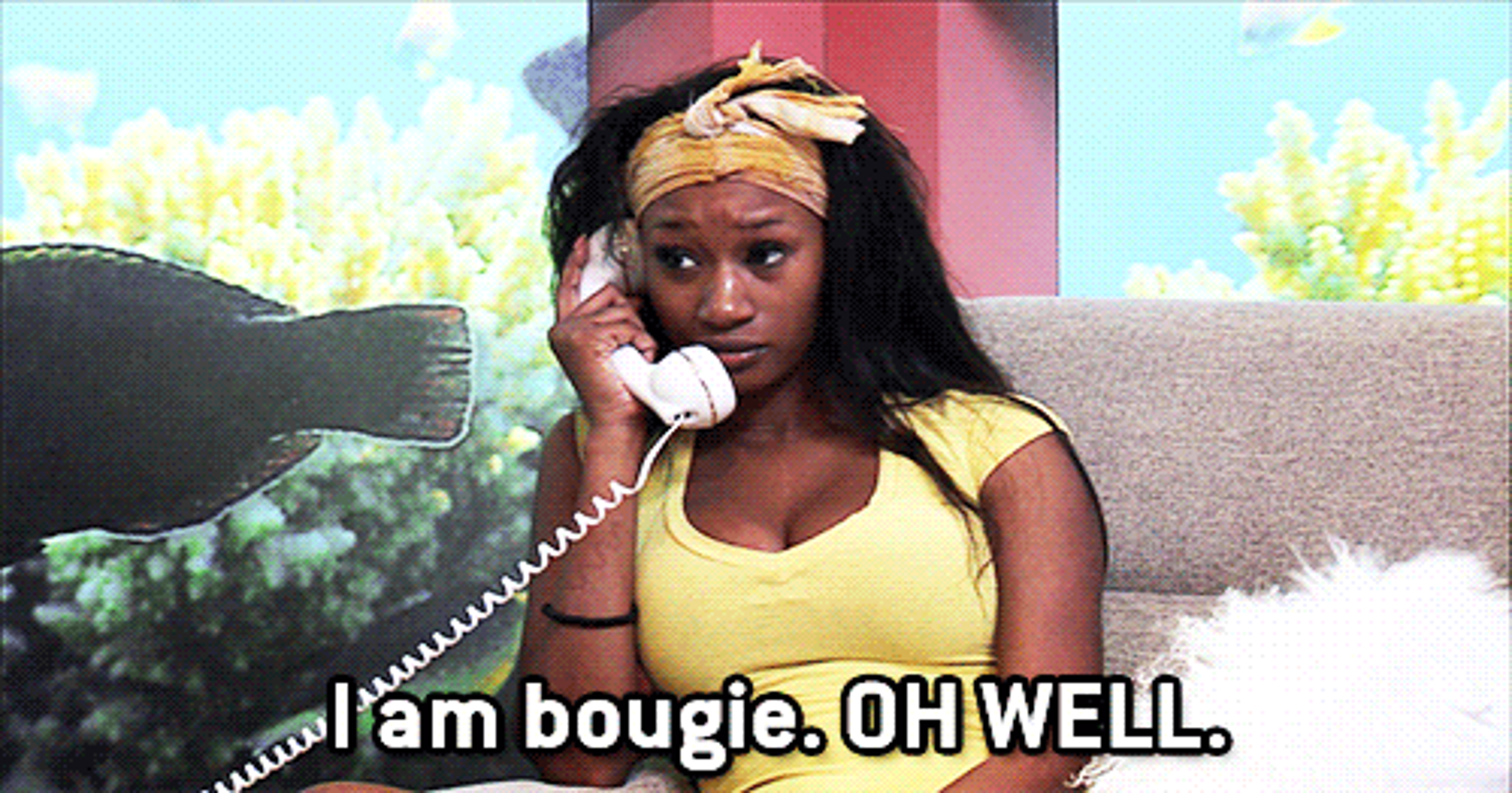 What you're really saying when you call something 'bougie'