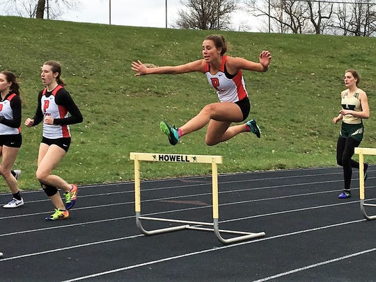 Pinckney's Catherine Stone is unique among cross country