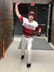 Wisconsin Rapids senior Caleb Krommenakker ranked seventh in the Wisconsin Valley Conference with a 3-3 record and 2.48 earned run average.