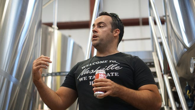 Wesley Keegan, owner of TailGate Beer, recently completed a major expansion at his West Nashville brewery to bring all production in house.
