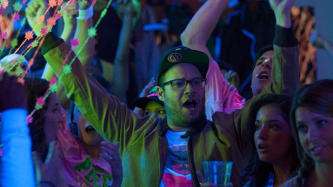 """Seth Rogen stars in """"Neighbors."""""""